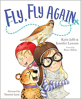 Book Review and GIVEAWAY: Fly, Fly Again, by Katie Jaffe & Jennifer Lawson {ends 1/18}