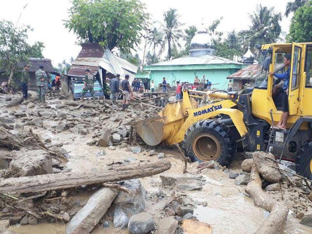 Banjir Bandang Aceh Tenggara, 2476 Jiwa Mengungsi, 2 Meninggal Dunia
