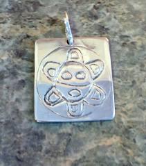 Metalsmith Orfebreria Guanin Sol Taino Taino Sun Pendant