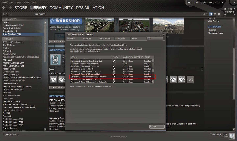 DPSimulation: Buying DLC - Download Troubleshooting
