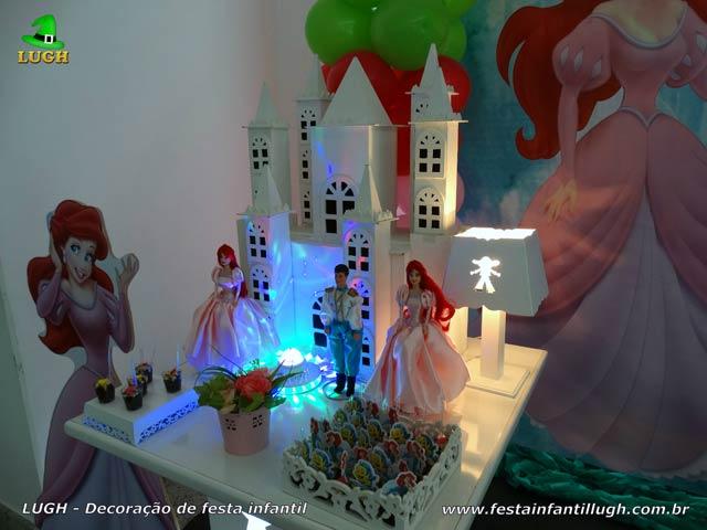 Decoração infantil Ariel - Festa de aniversário