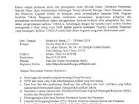 Bimbingan Teknis Petugas Teknis Bantuan Sarana dan Prasarana Tahun 2018 Regional Malang