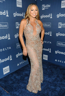 Mariah Carey honored at the GLAAD Awards. Watch her speech now at JasonSantoro.com
