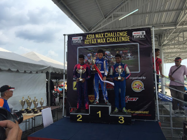 Nayan Chatterjee clinches second position overall at the KRS KKS Asia Max Challenge