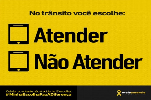 Maio Amarelo: #MinhaEscolhaFazADiferença