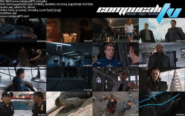 Los Vengadores DVDRip Subtitulos Latino