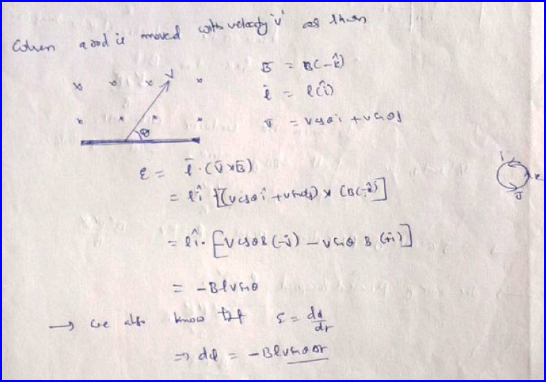 Induced EMF due to Motional Conductor | IIT JEE and NEET Physics