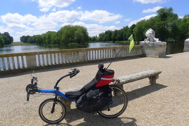 Tour de la Beauce en vélo couché  à Rambouillet