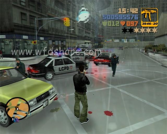 Grand Theft Auto III Full Portable