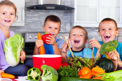 Bunda Inilah Makanan Sehat Untuk Balita 3 - 5 Tahun