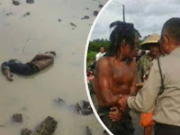 Warga Menemukan Mayat di Sawah, Saat Polisi Lakukan Evakuasi Yang Terjadi Malah Bikin Ngakak