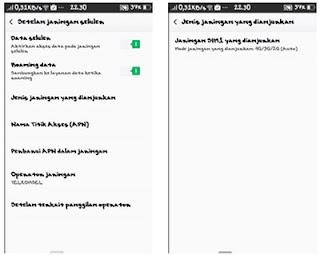 setting 4g oppo smartphone