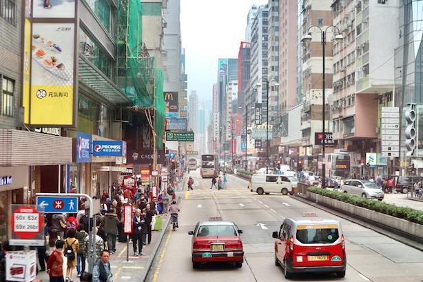 jalanan-HongKong