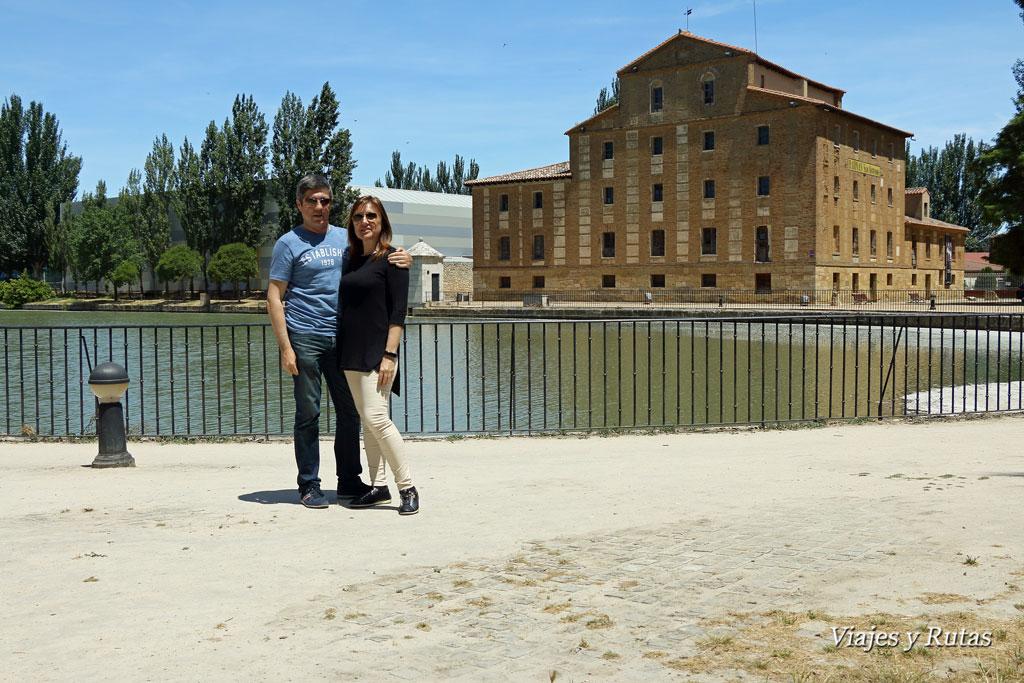 Canal de Castilla, Medina de Rioseco