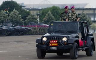 MENHAN Berharap Indonesia Masuk Tiga Kekuatan Pertahanan Dunia