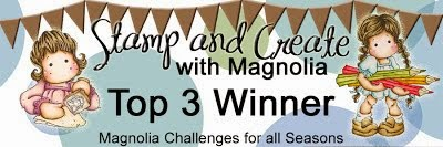"Winner ""Stamp and Create with Magnolia#44"