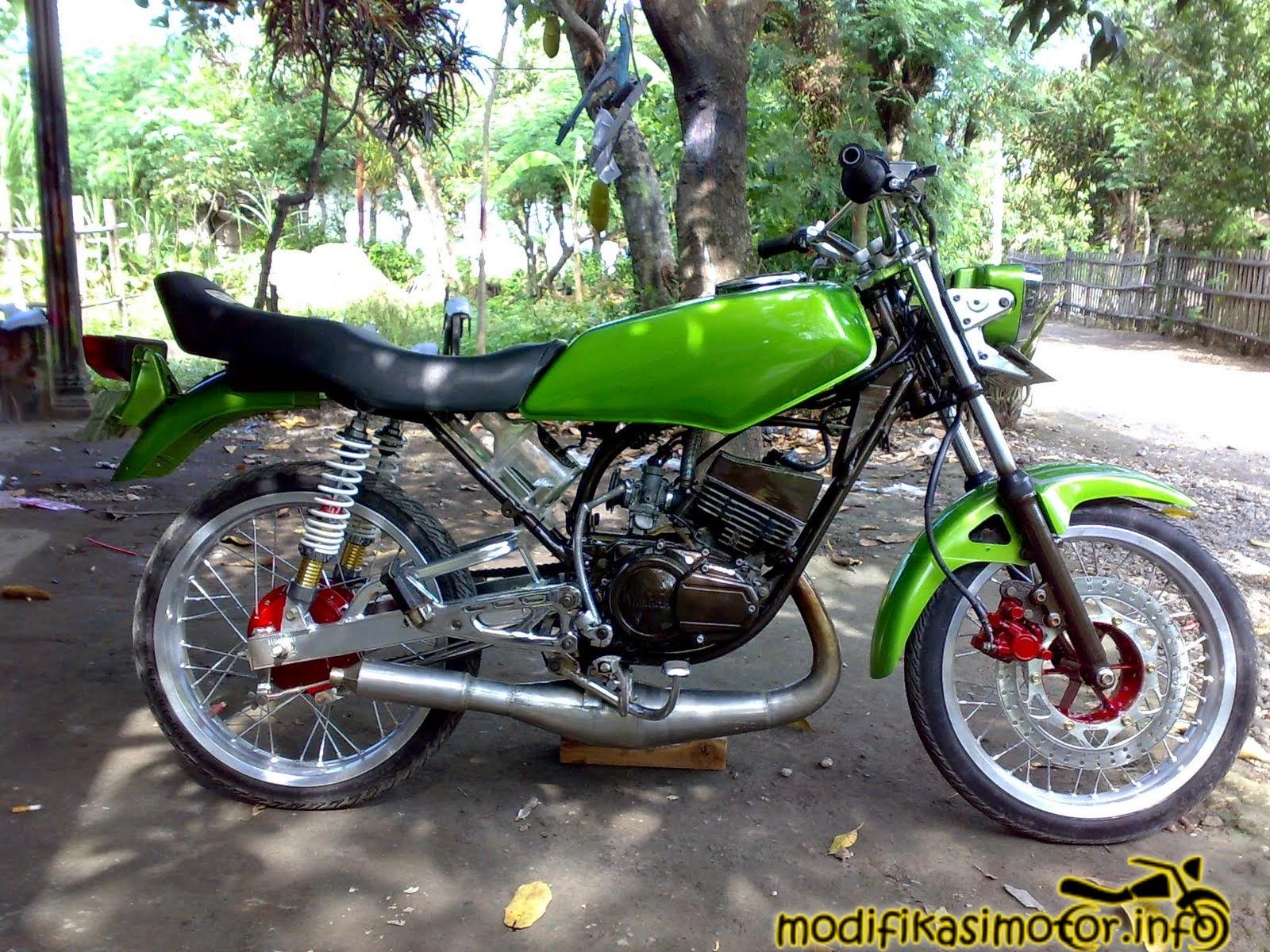 Kumpulan Foto Modifikasi Motor Rx Special Terlengkap Modispik Motor