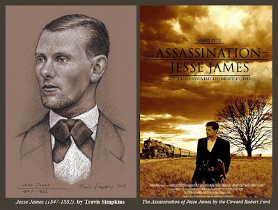 Jesse James. by Travis Simpkins. The Assassination of Jesse James by the Coward Robert Ford