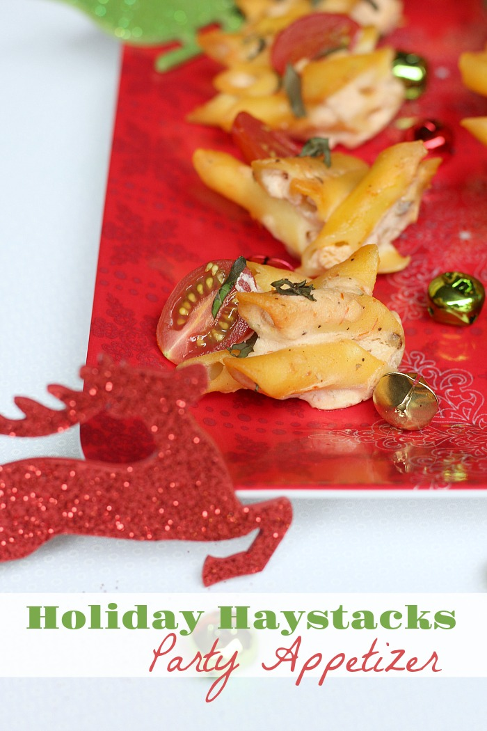 This easy to make holiday appetizer is affordable and easy to serve to large or small parties