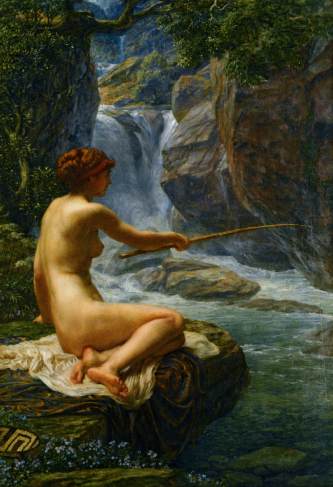 sir edward john poynter nymph