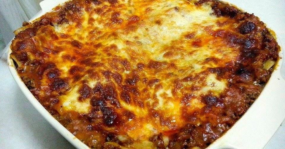 Resepi Lasagna Facebook - Surasmi S