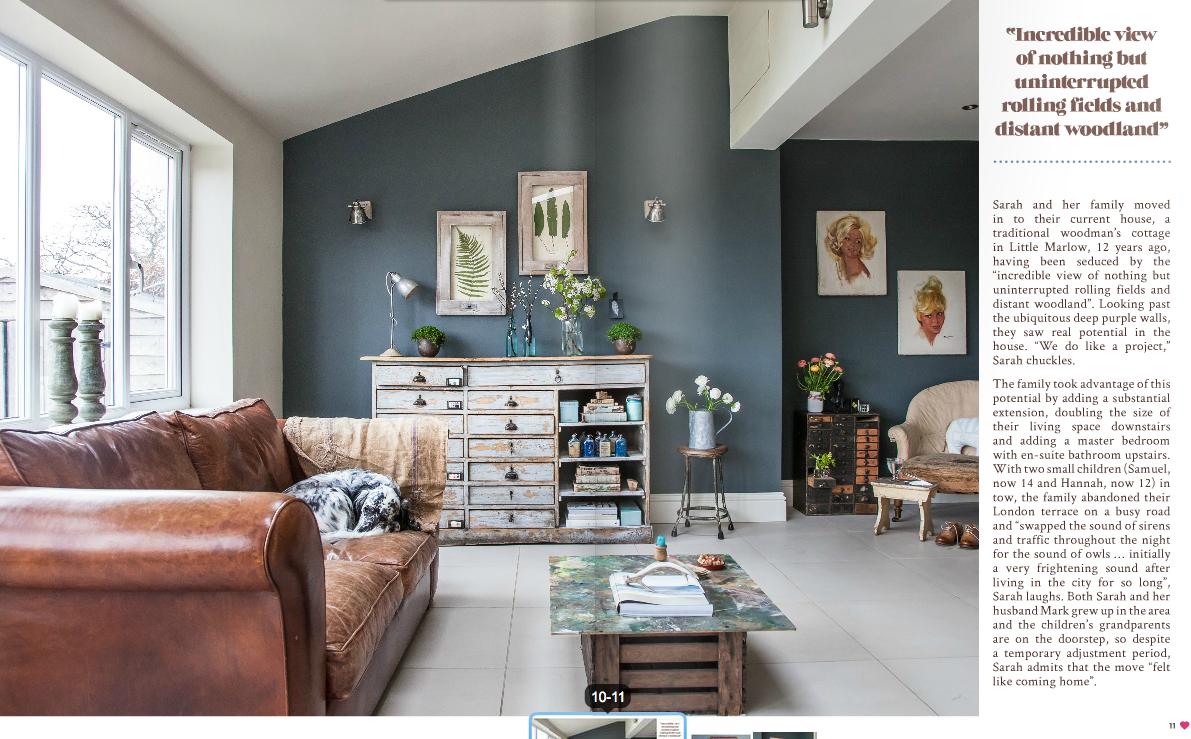 我們看到了。我們是生活@家。: 英國室內設計線上雜誌Heart Home 9月號
