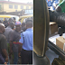 Crisis breaks out as Ballot papers found in bus in Agege (Photos)