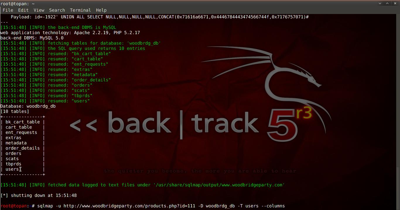 Tutorial Sql Injection Dengan SQLMAP Kali Linux