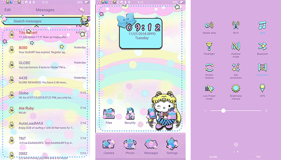 Oppo Theme: Oppo Sailormoon Kitty Theme