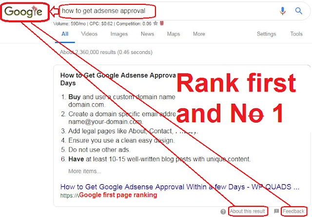 The ultimate search engine marketing strategy: Rank first & 1.