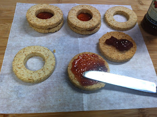 gluten free jam sandwich cookies
