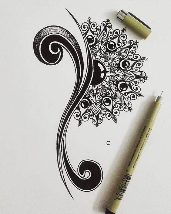 16 Gorgeous Underboob Tattoo Ideas