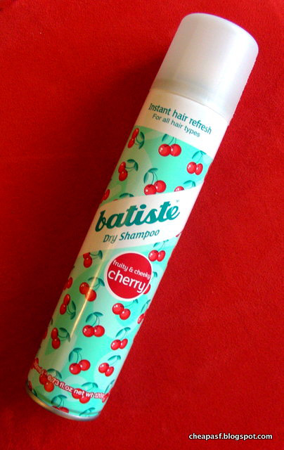 Batiste Cherry dry shampoo review