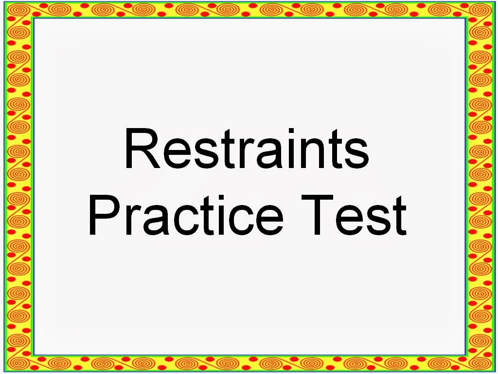 The improper use of patient restraints essay