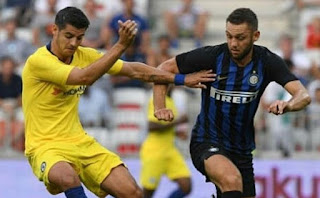 Chelsea vs Inter Milan 1-1 (5-4)  Video Gol & Highlights ICC 2018