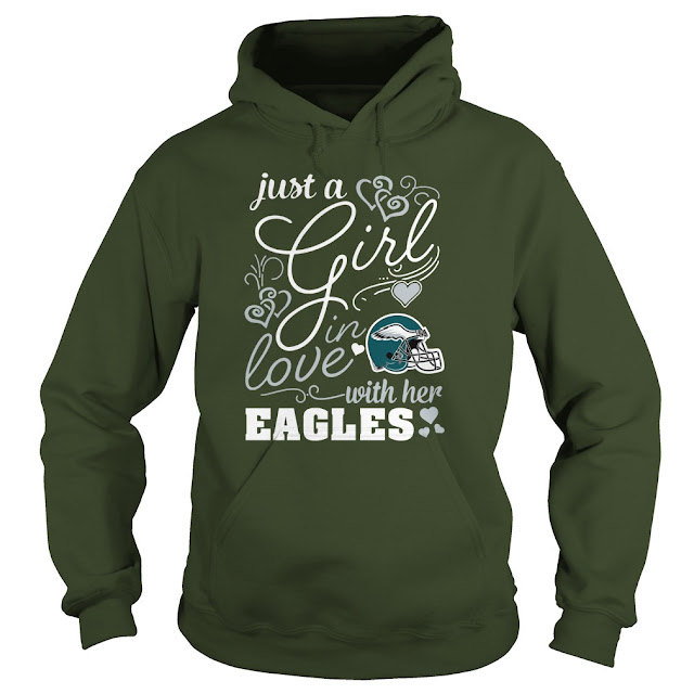Philadelphia Eagles - Just A Girl In Love With Her Shirt