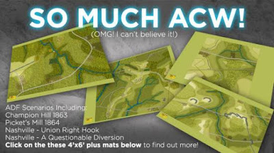 New ACW Battle Mats