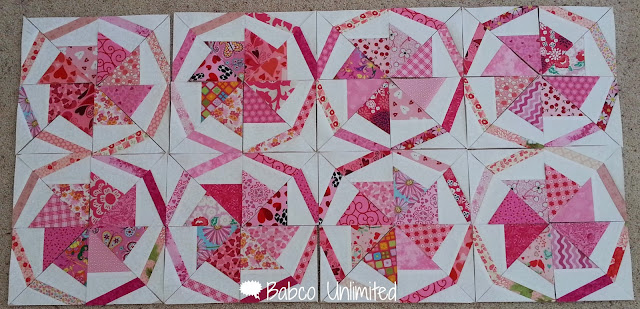 BabcoUnlimited.blogspot.com - Wheel of Fortune Quilt