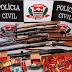 Em Operação Pré-Carnaval, Polícia Civil apreende armas fogo na Zona Rural de Pirassununga