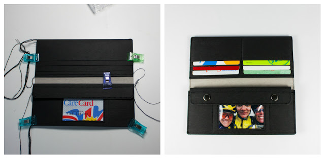 紙樣手創設計 紙長夾 SIDONIEYANG Paper Long Wallet
