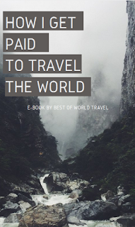 e book cover for travel book related