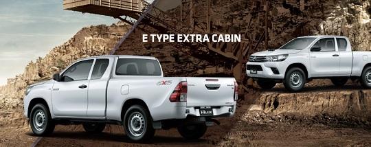 Spesfikasi Toyota Hilux E Cab Tahun 2017