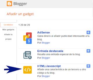 Crear un widget de suscripciones para mi blog de blogger