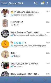BBM Mod IOS 6 V2.13.0.26 Apk Terbaru