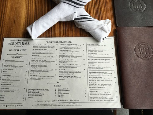 Worden Hall South Boston brunch review