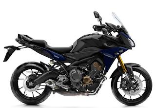 Yamaha MT-09 Tracer Mistral Grey hitam abu-abu