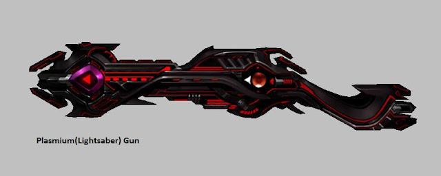 Plasmium / Light Saber Gun | Weapon Skin [Force Gunner]