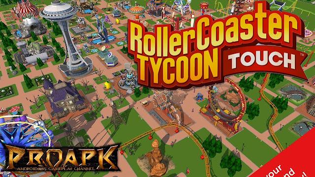 تحميل لعبة RollerCoaster Tycoon Touch للأندرويد مهكرة اخر اصدار