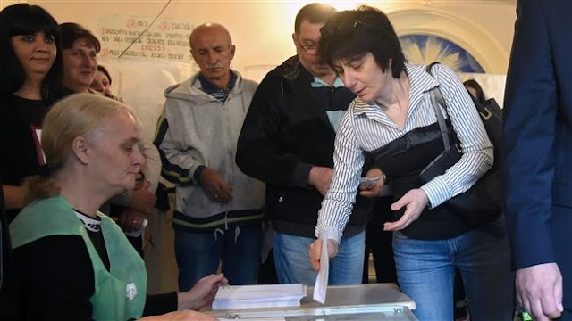Georgia ruling party leads in parliamentary polls: Early results