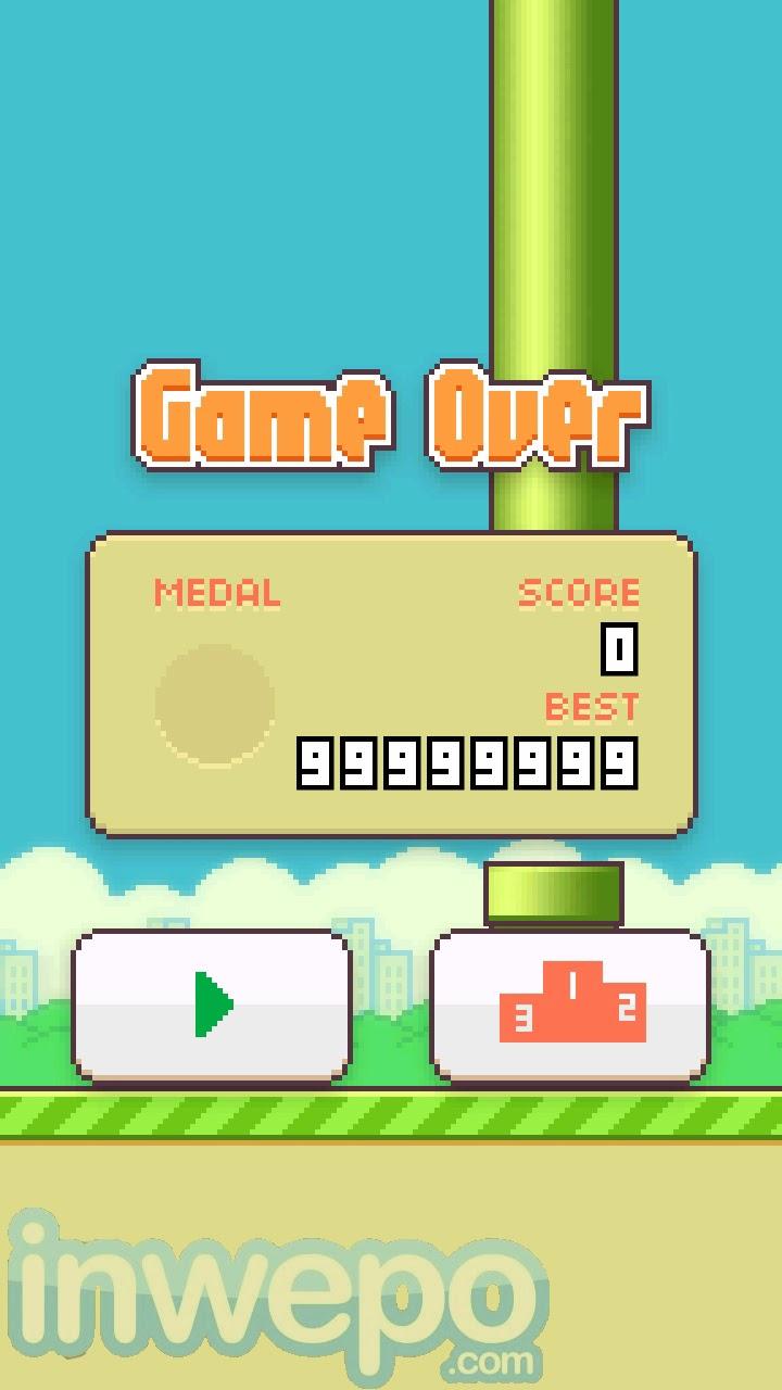 Tips Mendapatkan Score Tinggi di Flappy Bird Android